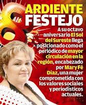 """""""FELICIDADES AL SOL DEL SURESTE POR SUS 8 ANIVERSARIOS"""