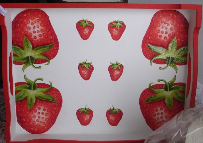 Bandeja Motivo Frutas