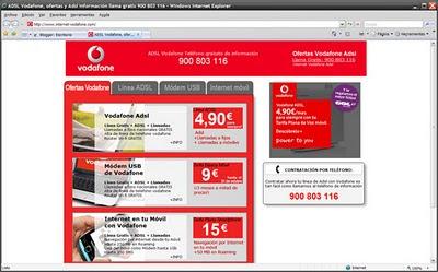 Ofertas Vodafone Adsl