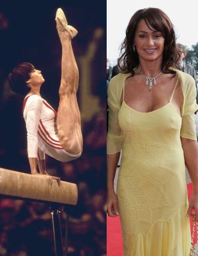 WORLD FAMOUS PEOPLE: Nadia Comaneci