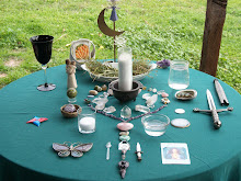 My Imbolc Sabbat Altar
