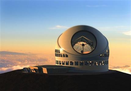 Empat teleskop tersambung menciptakan cermin terbesar di dunia