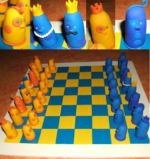 le monde de cl mentine un jeu d 39 chec original. Black Bedroom Furniture Sets. Home Design Ideas