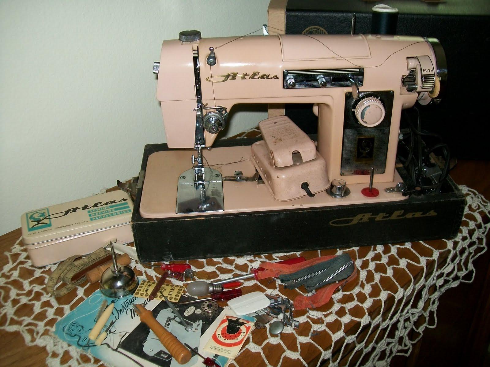 atlas sewing machine manual