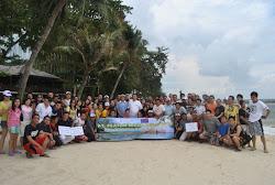 OUTBOUND di Pulau Bidadari - P.Seribu