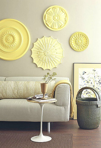 Ceiling Rosettes At Lowe S : Life and style a to z c m ceiling medallion