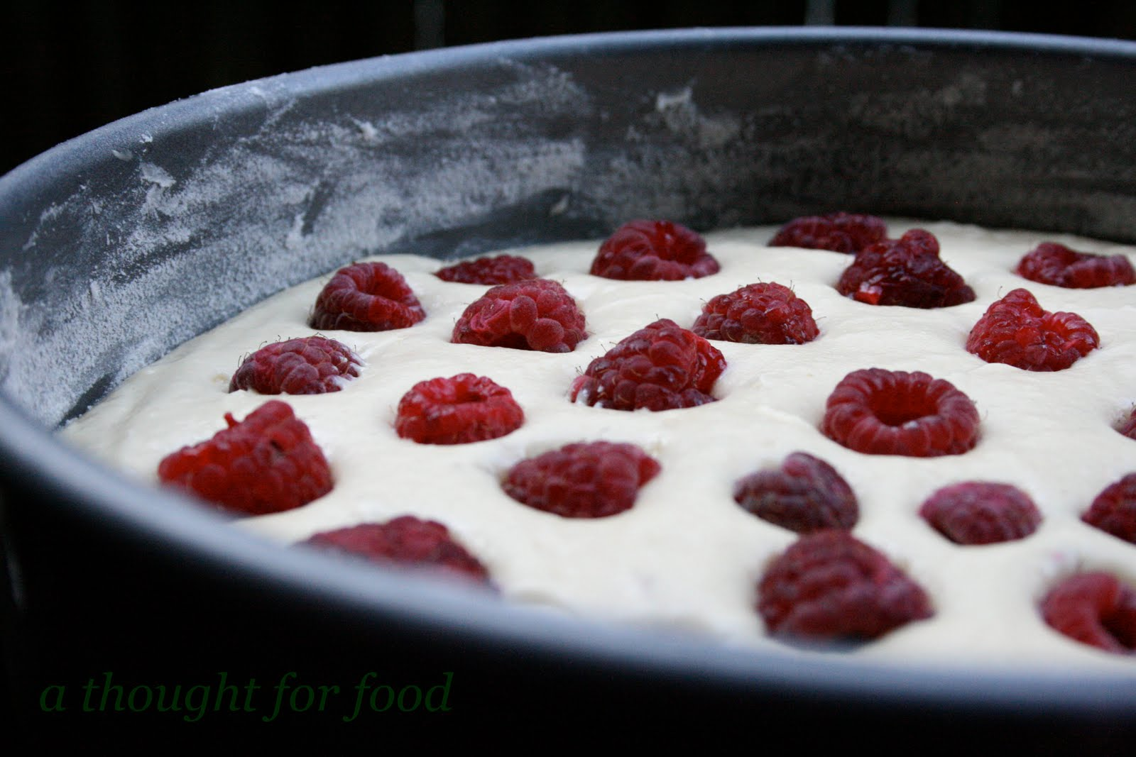 Recipe: Raspberry Buttermilk Cake