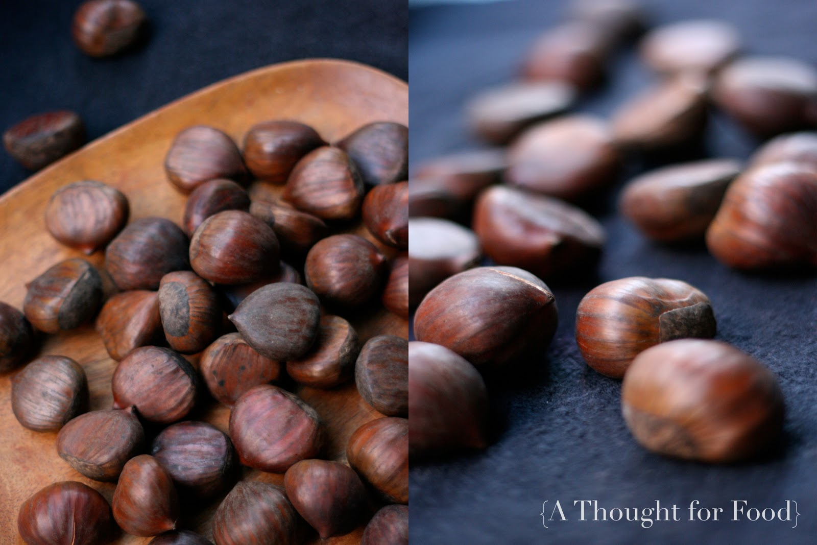 Recipe: Roasted Chestnut Cookies} » A Thought For Food