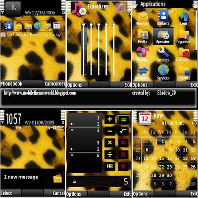 Jaguar spots for s60v3 theme
