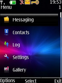 Ray of Light Nokia s40v3 theme
