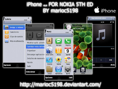 iPhone Theme by Marioc5198