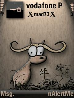 Zodiac ox by Longhair symbian theme