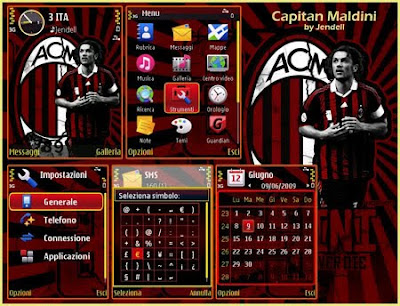 Captain Maldini by Jendell s603rd theme
