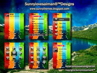 Strokes s60v3 theme by sunny