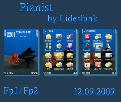 Pianist by Liderfunk Nokia theme