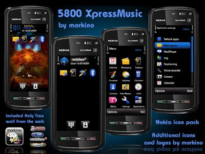 5800 Xpress Music by Morkino