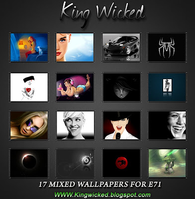17 Wallpapers With Frame For E71 King wicked