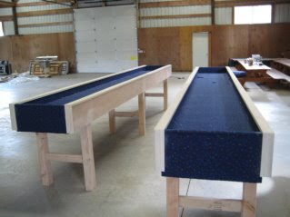 so for the next couple of - Carpet Ball Table
