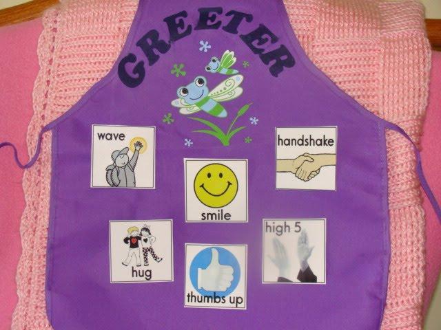 Greeter: A wonderful job to