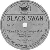 Black Swan Recording by Ethel Waters