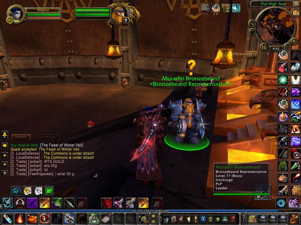 how to kill muradin bronzebeard