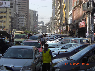 "Calcutta's on-street parking ""extortion rackets"""