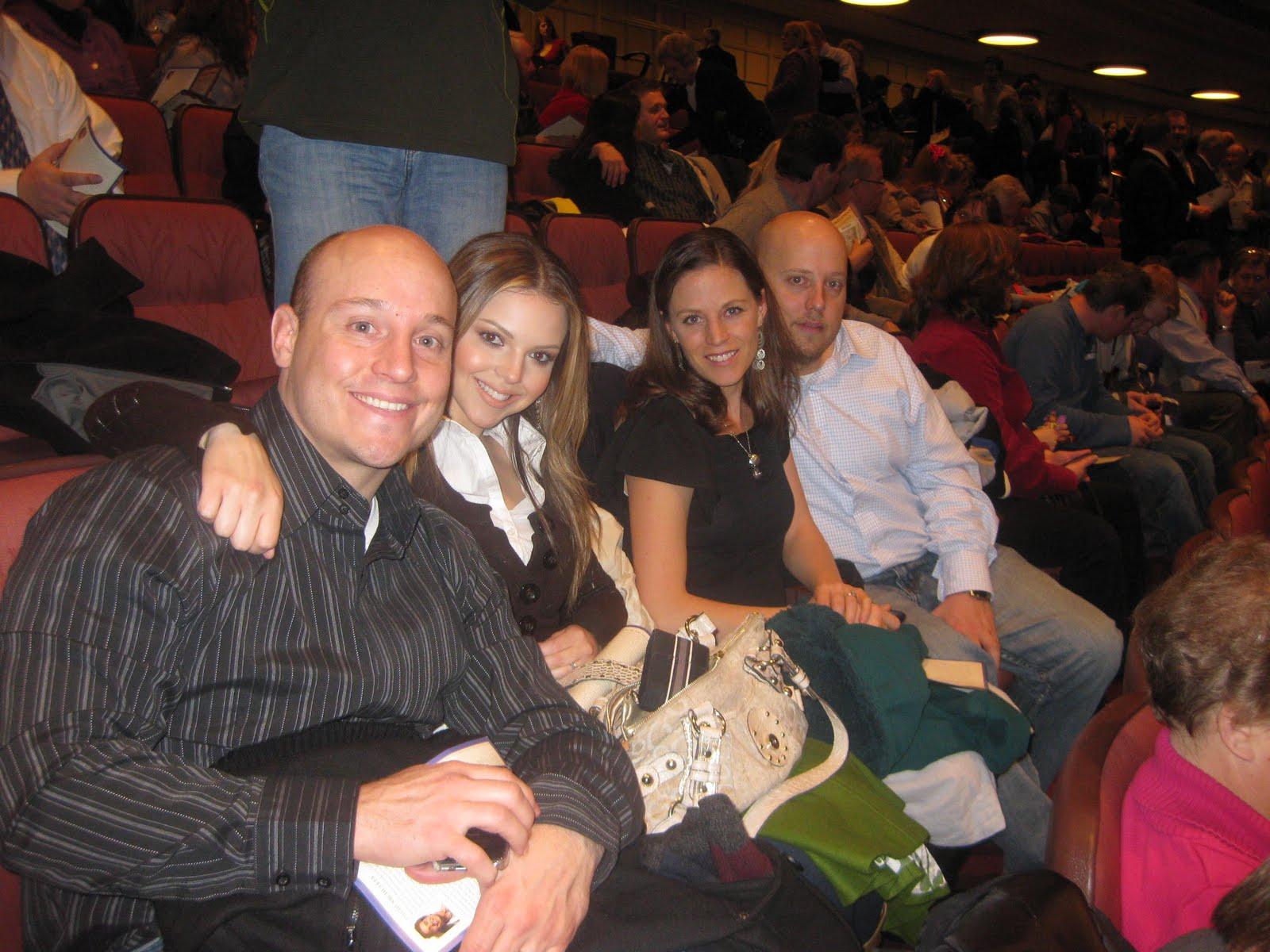 Melissa Rossiter: Mormon Tabernacle Choir Christmas Concert 2010