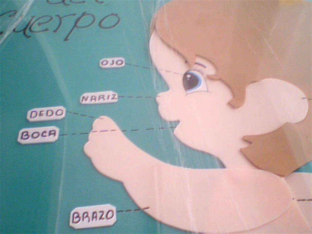 manualidades de preescolar  partes del cuerpo