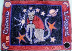 Cosmic Wizzard rug