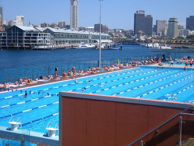 Swimming Andrew Boy Charlton Pool Wooloomooloo Bay Sydney