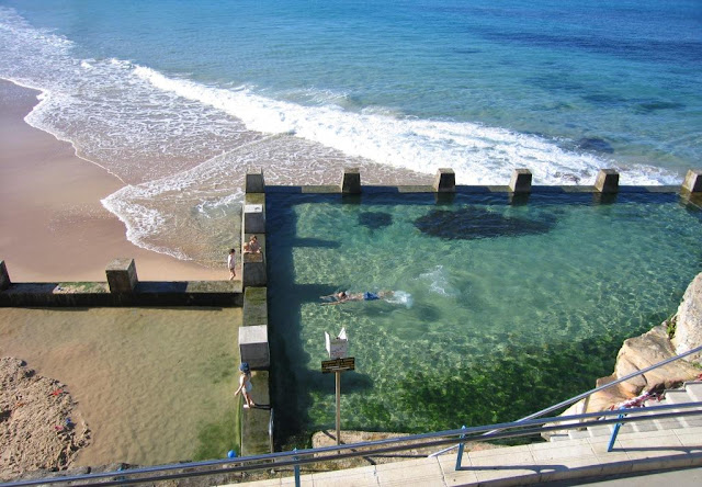 Were Heading South Again On To Coogee This Is The Ross Jones Memorial Pool At The Southern End Of Coogee Beach They Were Built In 1947 From Funds