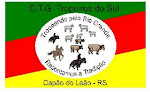 Bandeira do CTG TROPEIROS DO SUL