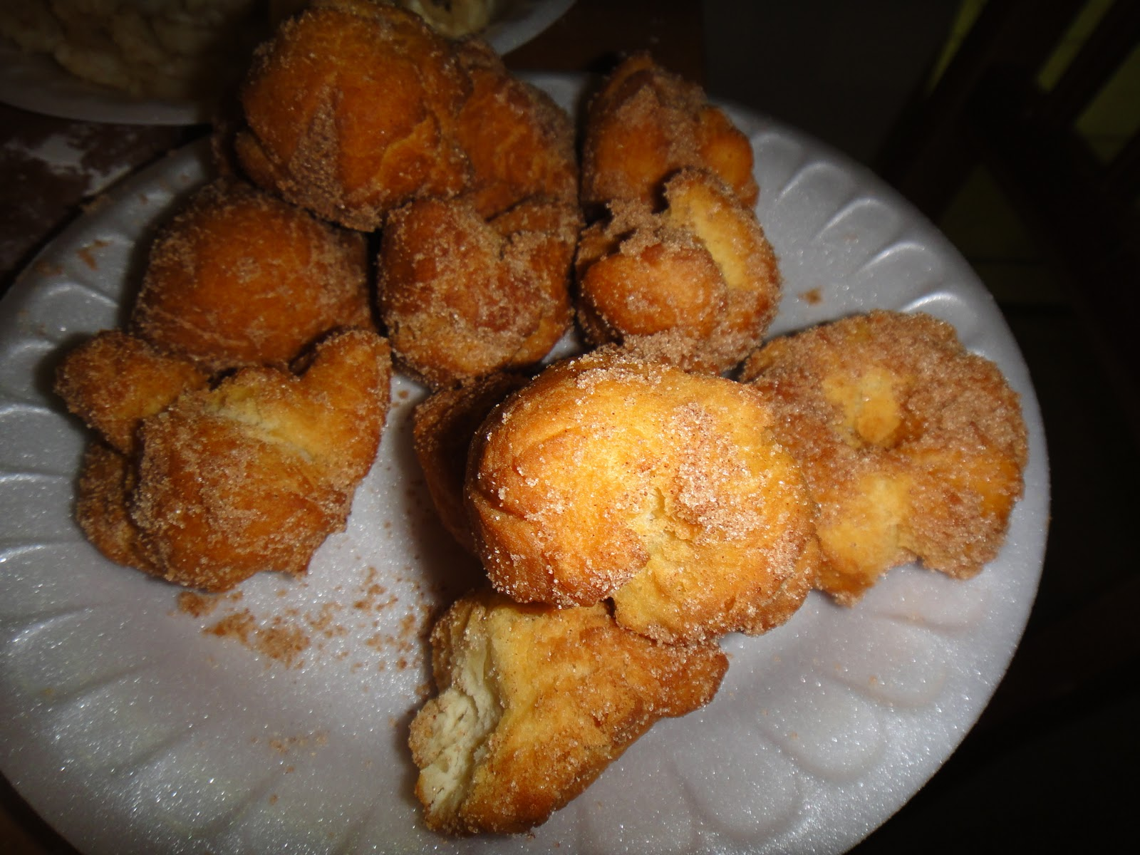 Deep Fried Donuts Deep fried doughnuts