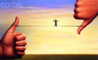 Figura Homem sobre Corda