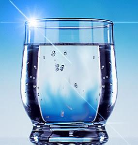 Foto copo d'água