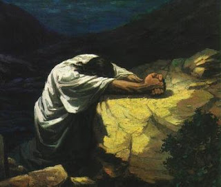 Figura Jesus Ora