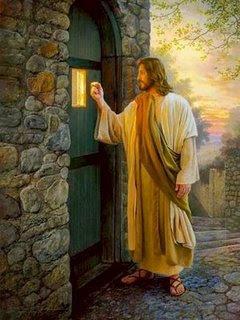 Imagem: Jesus batendo na porta