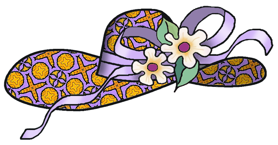 coloring pages easter bonnet hats - photo#35