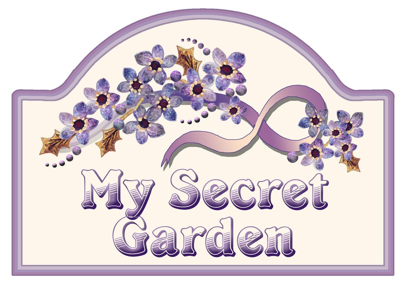 """secret garden signs, artbyjean - purple wood roses: make your own """"my secret garden"""" sign, Design ideen"""
