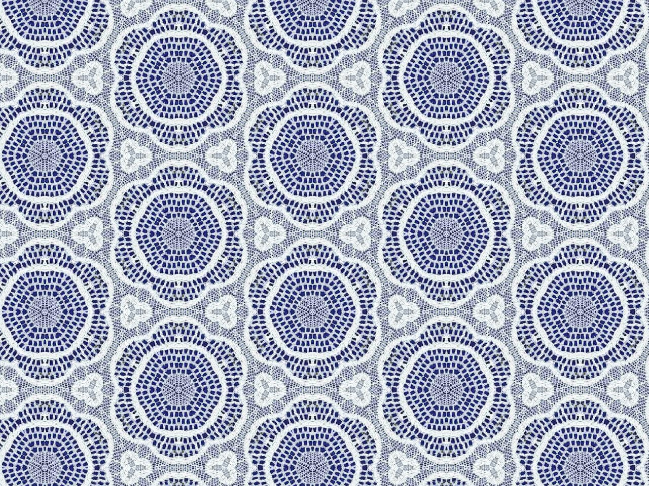artbyjean images of lace blue background with delicate On fabric patterns