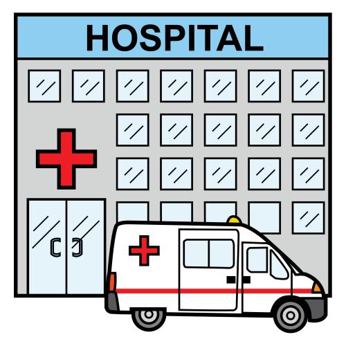 Imagenes de dibujo de un hospital - Imagui