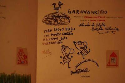 dedicatoria en el cuento de Garavanciño