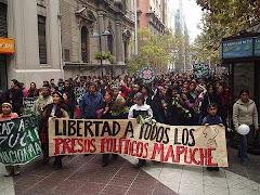 No a la represion del pueblo Mapuche
