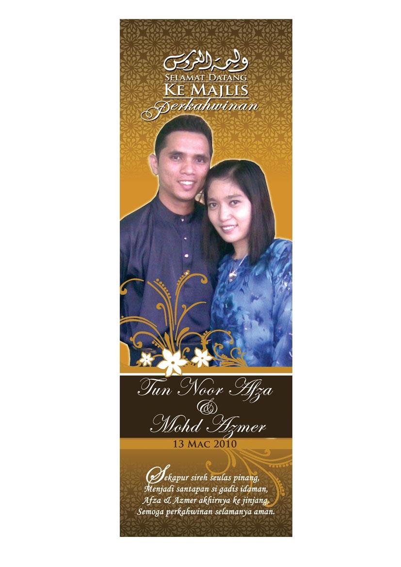 Contoh Bunting Kahwin