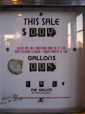 gasoline pump 10 cents a gallon