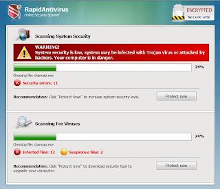 onlinewebscan.com RapidAntivirus Template 3