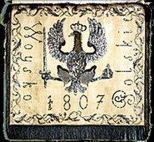 Chorągiew Wojska Polskiego z 1807r.