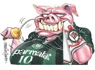 Palmeiras+Corínthians+vitória+porco+suíno+gripe