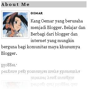 Kustomisasi Title (Judul) Sidebar Blogger
