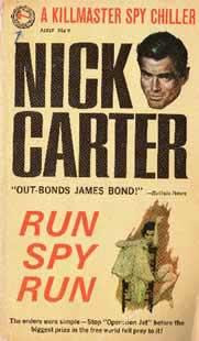 ungsum bacaan hot berupa buku stensilan Nick Carter atau Enny Arrow